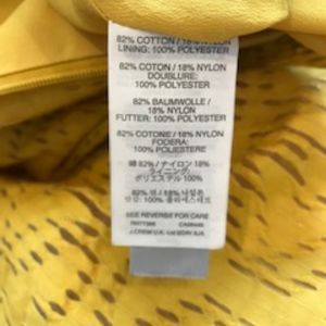 NWOT  J Crew Yellow Fit and Flair Dress Size 2